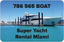 Super Yacht Rental Miami
